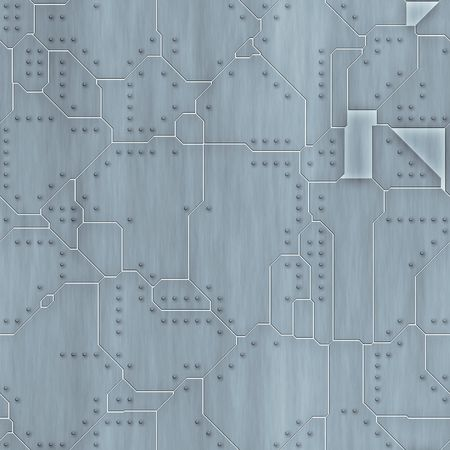An illustration of a brushed metal texture Stock Illustration - 6111702