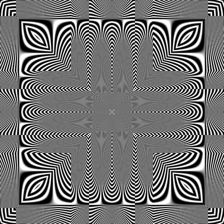 An illustration of a nice optical illusion illustration