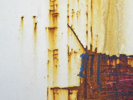 A photography of a rusty plate background Stock Photo - 6352575