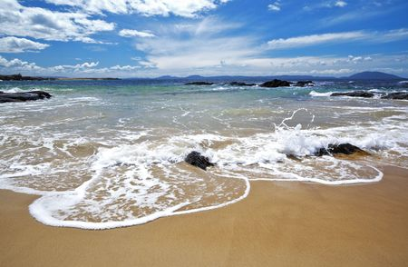A photography of sunny beach in Australia Stock Photo - 6410321