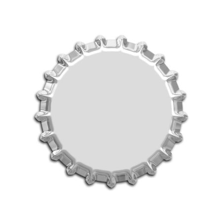 An illustration of a nice bottle cap illustration
