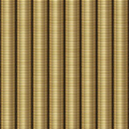 An illustration of a seamless money background Stock Illustration - 6688634