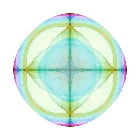 eyecatcher: An illustration of a nice colorful mandala