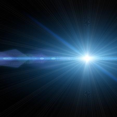lucero: Una ilustraci�n de una estrella brillante en el cielo