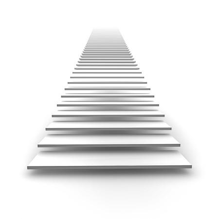 escalera: Una imagen de una blanca escalera al cielo