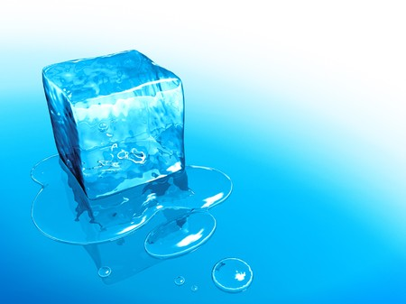 froze: An image of a nice ice cube