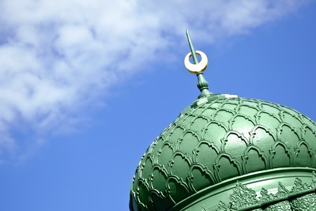 moorish: An image of a beautiful moorish sign in the sky