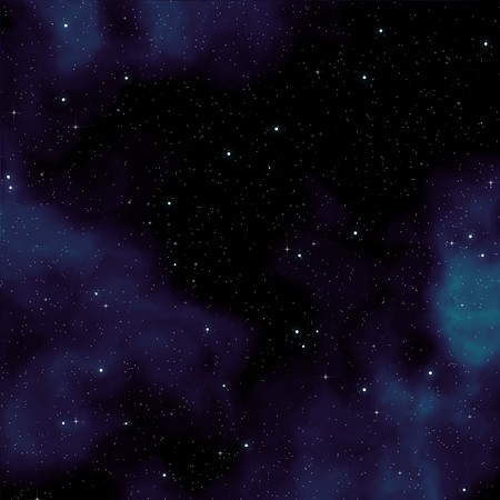 An image of a seamless star field Stock Photo - 7212723
