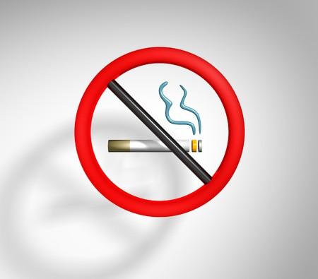 An image of a not smoking sign photo