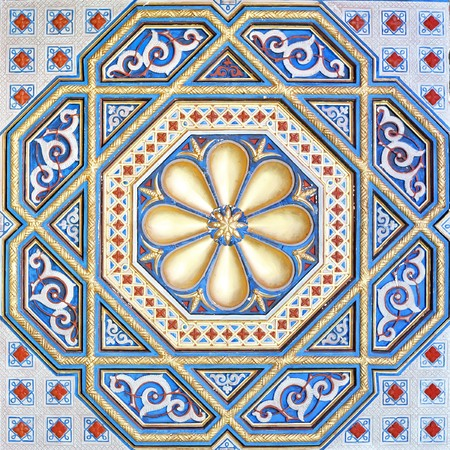 An image of a beautiful moorish ornament photo