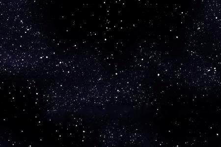 melkachtig: Een afbeelding van een hoge gedetailleerde starfield achtergrond