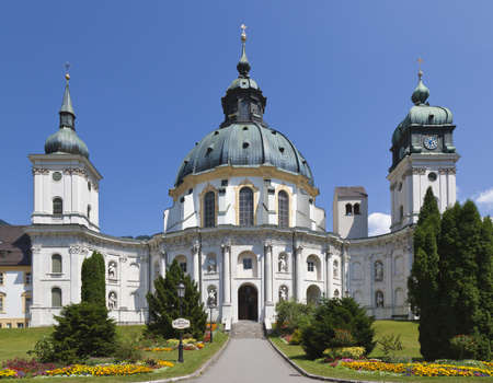 ettal: An image of the beautiful monastery in Ettal