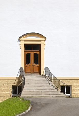 An image of a beautiful door with space for text photo