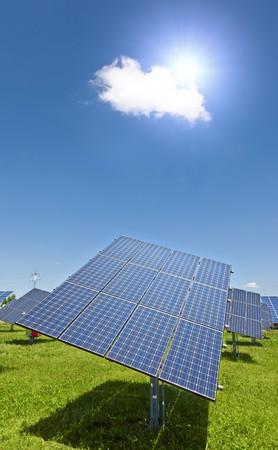 Ein Bild einer großen solar-Pflanze