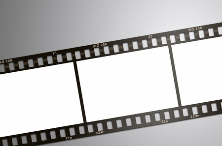 cinema strip: An image of a classic film strip