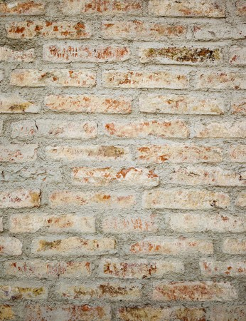 white walls: An image of an old brick wall background