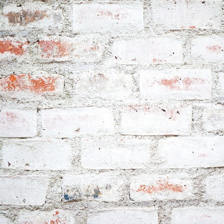 white brick wall: An image of an old brick wall background