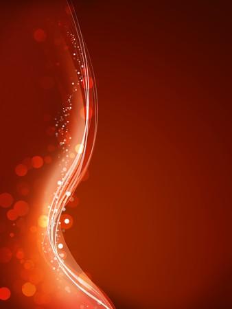 Une image d'un joli fond noël