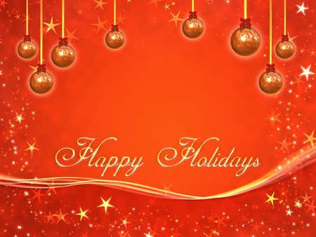 An image of a nice red christmas background Stock Photo - 7584456