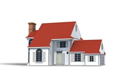 An image of a typical nice house Stock Photo - 7584496