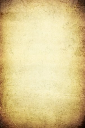 An image of an old grunge parchment background with space for your text photo