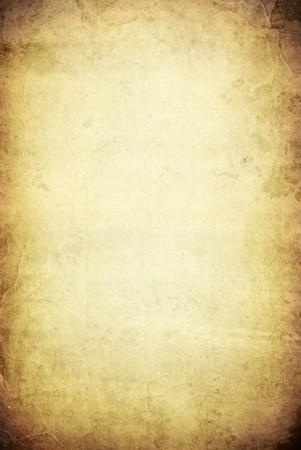 pergamino: Una imagen de un antiguo fondo de pergamino de grunge con espacio para el texto