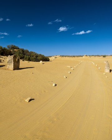 An image of a desert road in Australia Stock Photo - 7696981