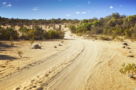 An image of a desert road in Australia Stock Photo - 7696994