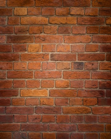 solid line: An image of an old brick wall background
