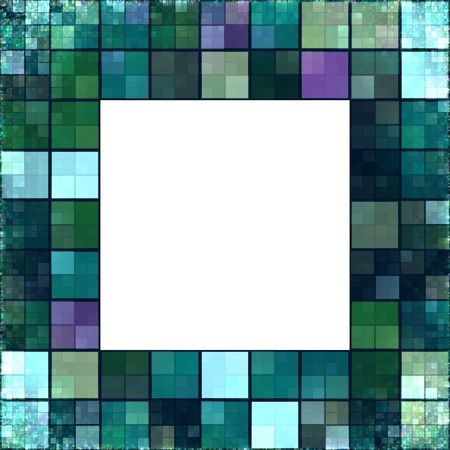 An image of a nice frame of colored squares photo