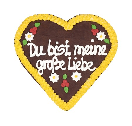 An image of an Oktoberfest heart You are my biggest love  photo