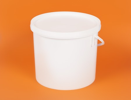 An image of a nice white bucket photo