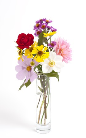 An image of a nice bouquet of flowers photo