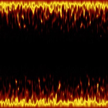 Een afbeelding van een vuur frame achtergrond