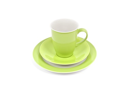 An image of a nice green coffee cup Stock Photo - 8002001