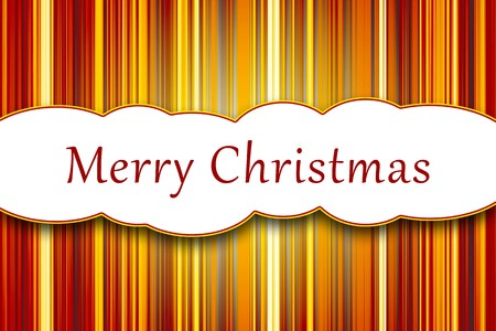 a nice abstract stripes Merry Christmas background photo