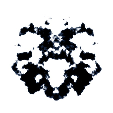 An image of a nice Rorschach background Stock Photo - 8077821