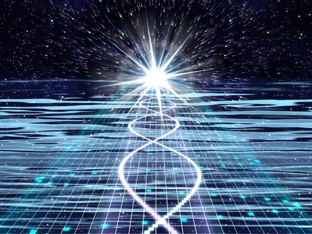 An image of a nice lights space music background photo