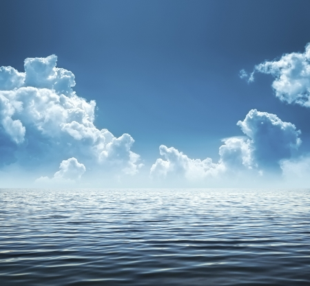 dark cloud: An image of a beautiful water background Stock Photo