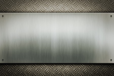 An image of a worn metal plate background photo
