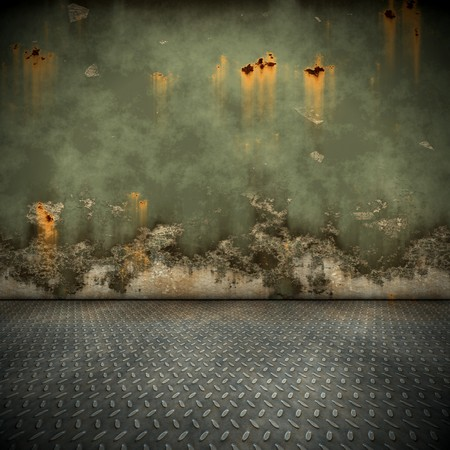 abandoned factory: An image of a nice steel floor background