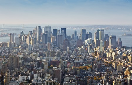 An image of Manhatten New York America Stock Photo - 8138341