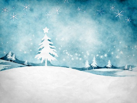 An image of a nice grunge christmas background photo
