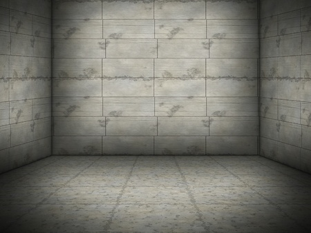 An image of a nice concrete room background Stock Photo - 8262616