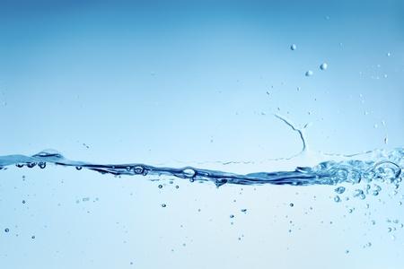 水: 一個美麗的水背景的圖像