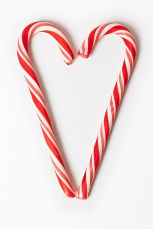 An image of a nice christmas candy heart Stock Photo - 8262625