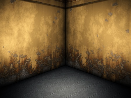 An image of a nice room with a corner photo