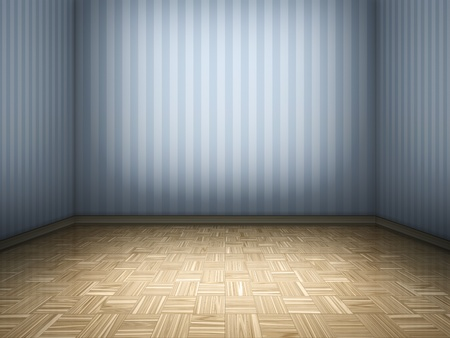nobody real: An image of a parquet room background