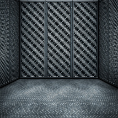 An image of a nice dark steel room background Stock Photo - 8412012