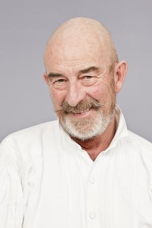 An old man with a grey beard Stock Photo - 8479625